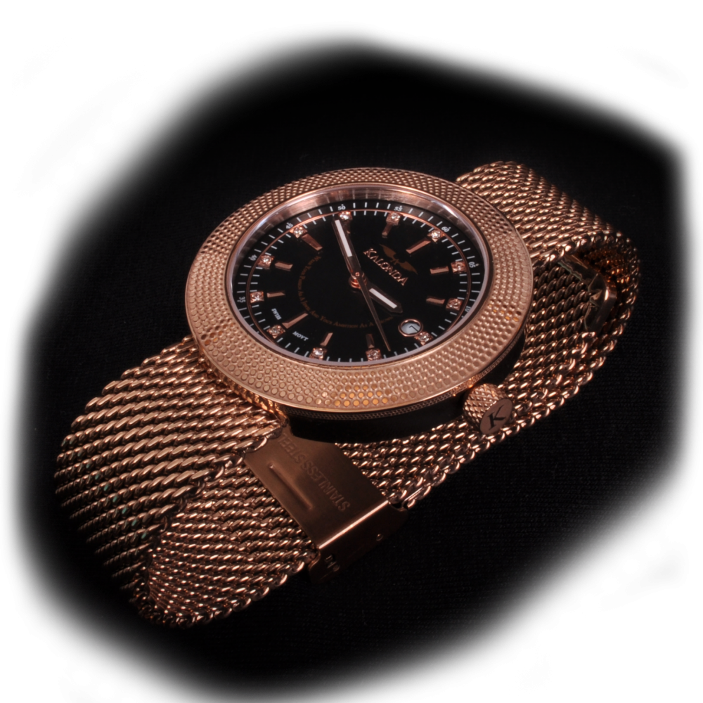 Royal Rose Gold Watch Zijkant shot