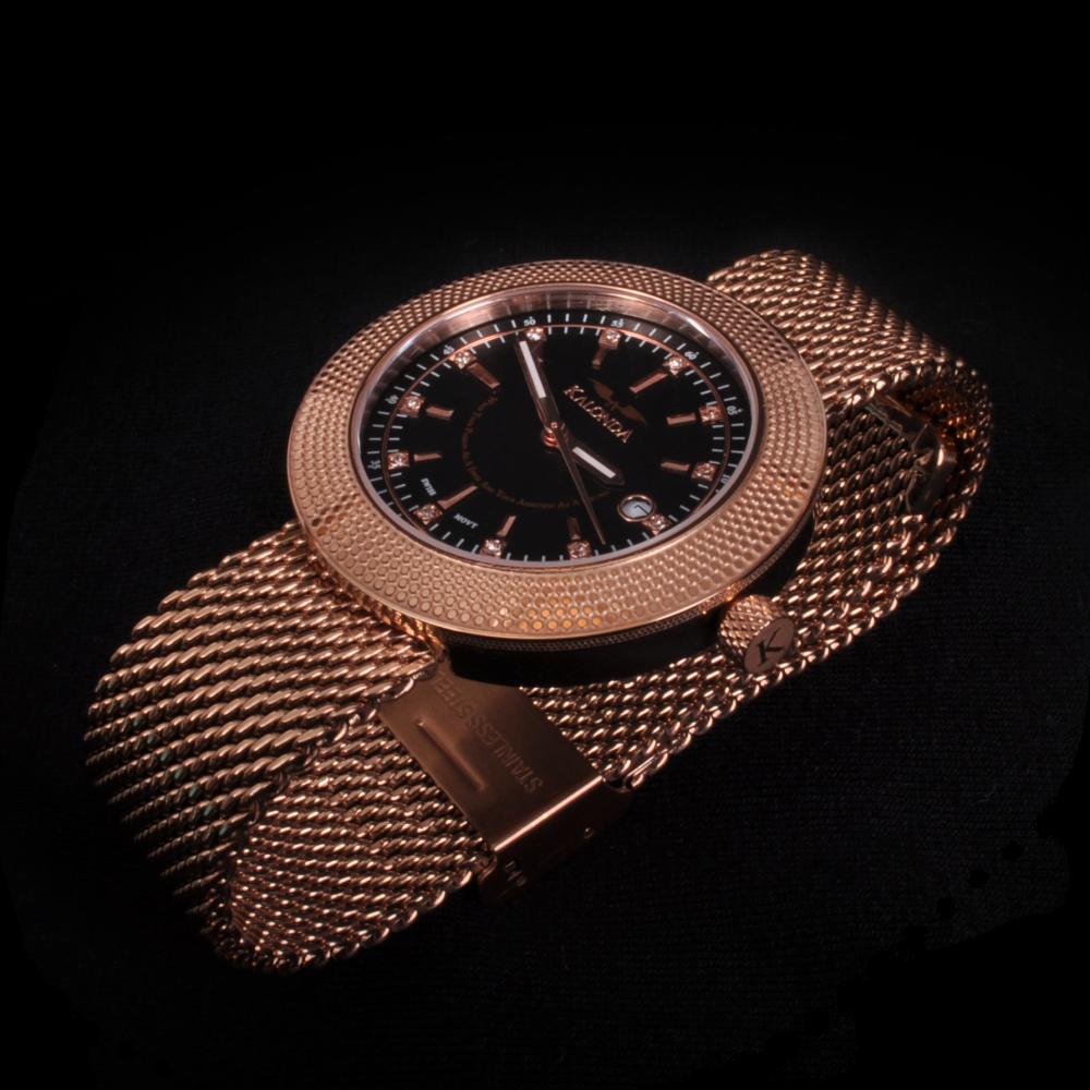 Royal Rose Gold Watch Zijkant shot