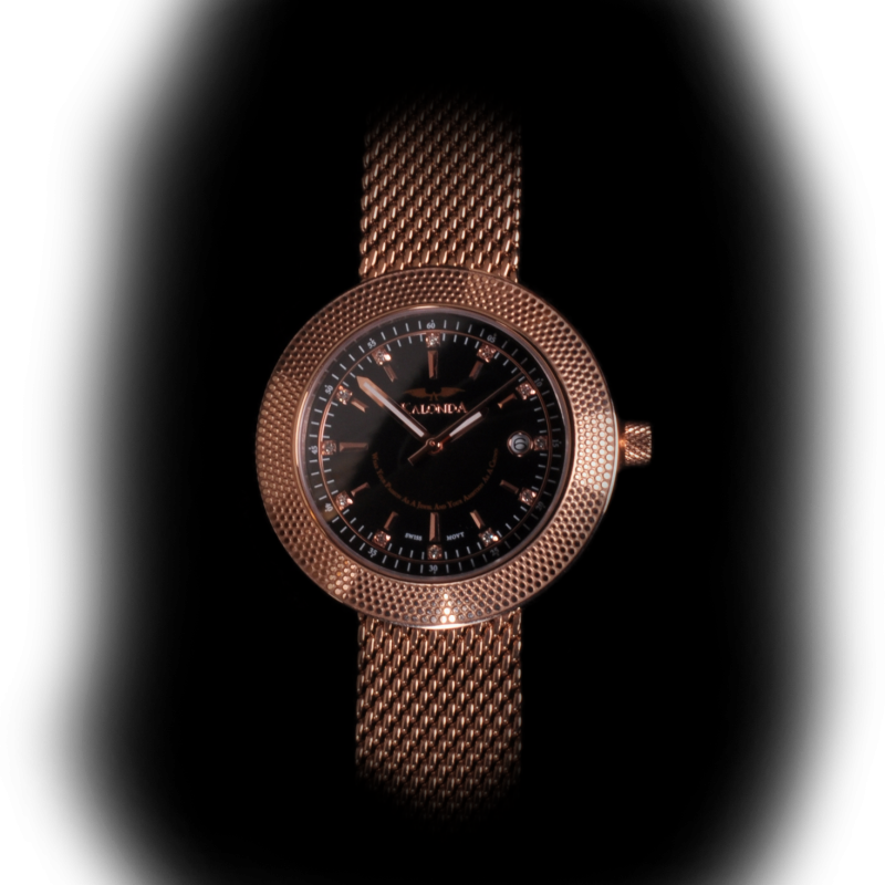 Royal Rose Gold Watch echt