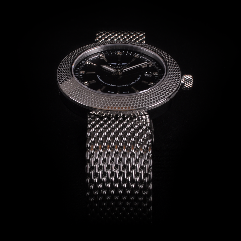 The Royal Silver Watch For Her - Front view Shot