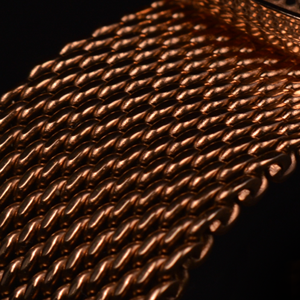 Mobile view - Royal Rose Gold For Her mesh band