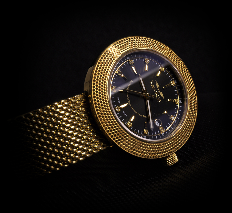 Royal Gold Watch For Her Front shot Kalonda
