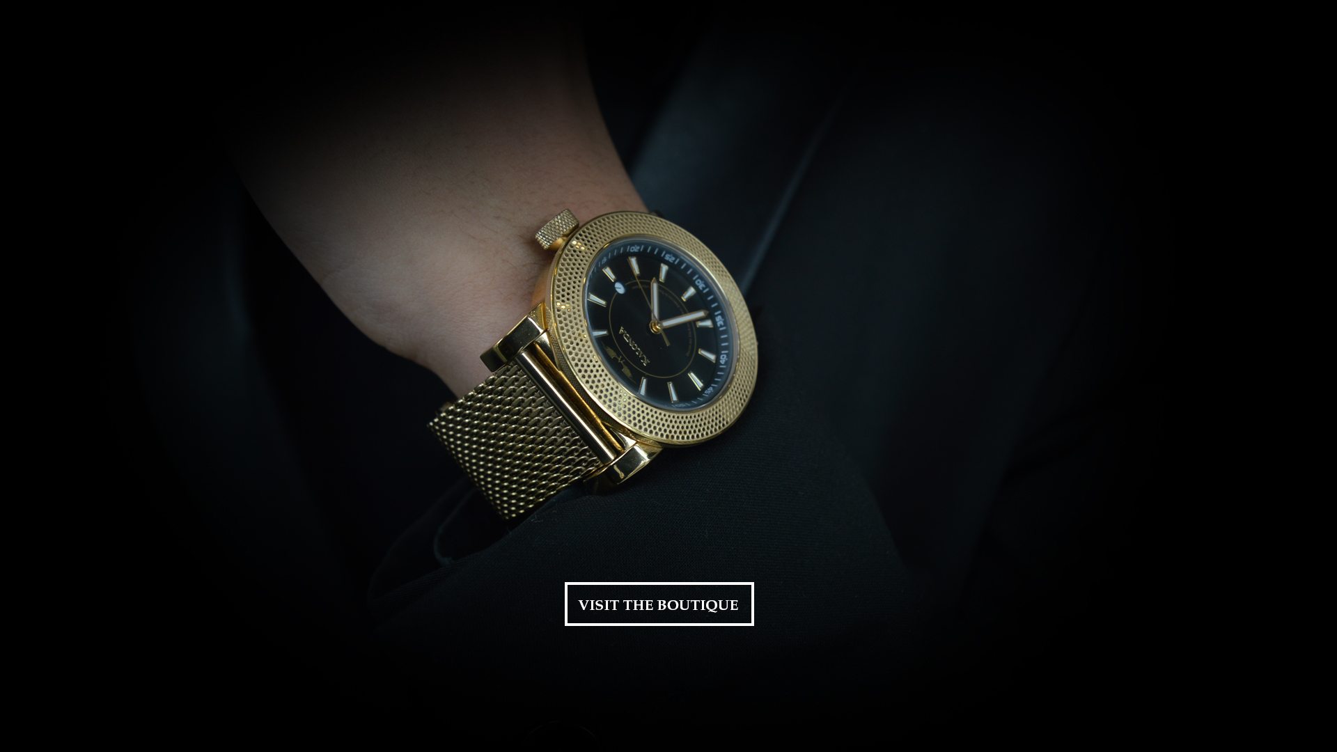 Kalonda - The Royal Gold Watch - Suit